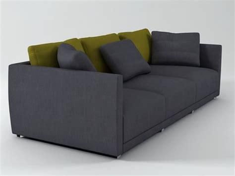 Sketch Sofa 3d Model Ligne sketch sofa 3d model ligne roset
