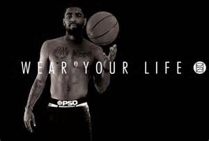 The Kitchen Collection Inc kyrie irving debuts collection for psd underwear