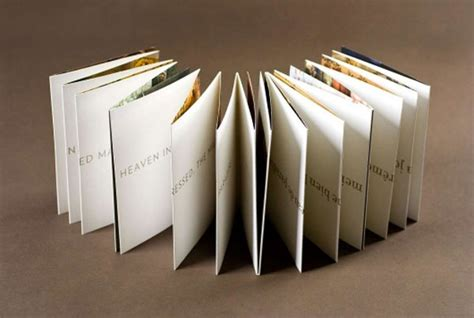 Paper Booklet Folding - 45 interesting brochure designs web graphic design