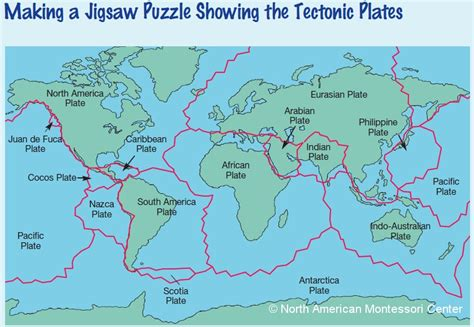 tectonic plate map haiti activities and resources a cultural study in the montessori classroom namc montessori