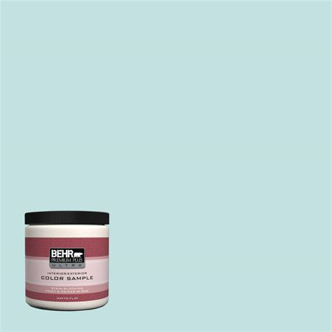 behr premium plus ultra 5 gal p490 6 hacienda blue flat exterior paint 485305 the home depot