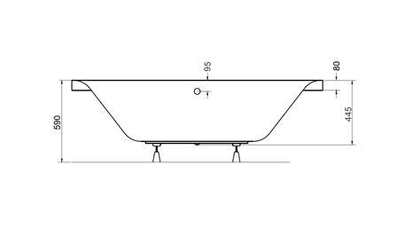 baignoire genova baignoire design mobilier salle de