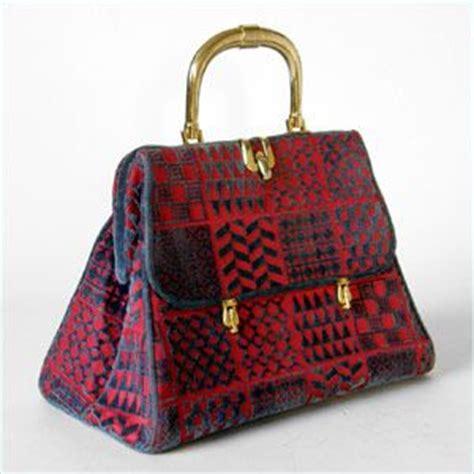 Clarks Velvet Joffie Bag by Roberta Di Camerino Velvet Handbag Vintage Purse