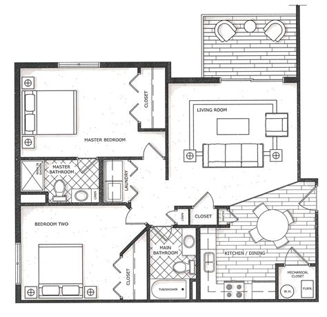 non open floor plans non open floor plans house plan w6816 detail from