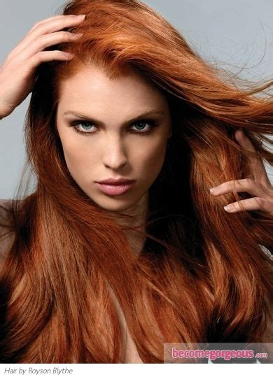 ginger hair color an eye grabbing intense ginger red hair color is sure to