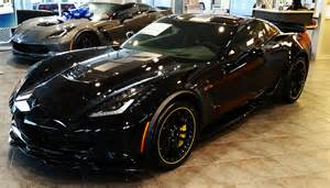 two c7 r 3lz z06 corvettes available black yellow at