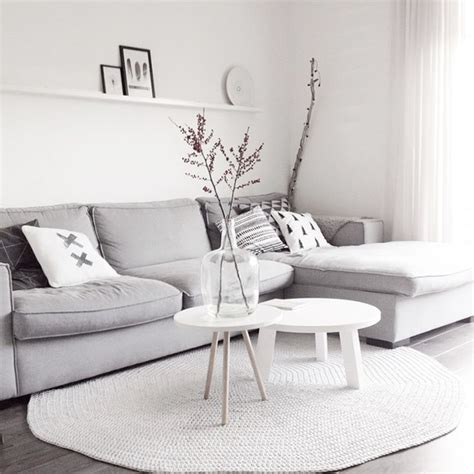 Grey And White Living Room by Salon Scandinave 38 Id 233 Es Amp Inspirations Diaporama