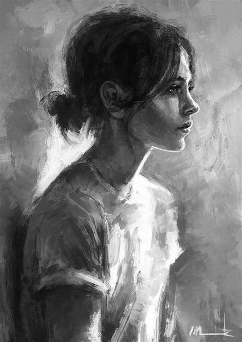 digital black and white 25 amazing digital paintings it is portrait and design