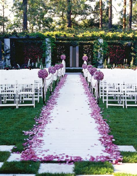 Wedding Aisle Decorations On A Budget by Best Outdoor Wedding Reception Decoration Ideas Garden