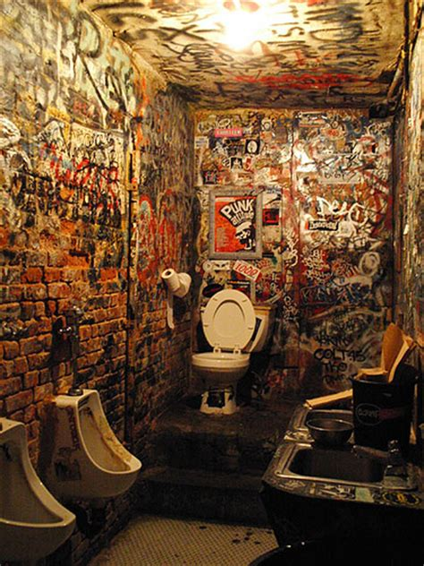 punk rock bathroom decor cbgb bathroom flickr photo sharing