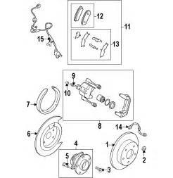 parts 174 mazda cx 9 brake components oem parts