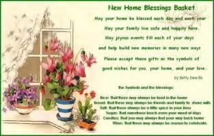 new home blessing basket new home blessings basket with printable poem and what to