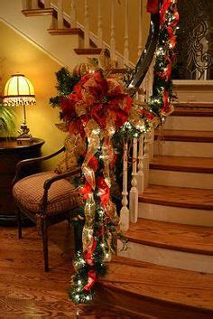 christmas decorations banister christmas decorations on pinterest banisters christmas garlands an