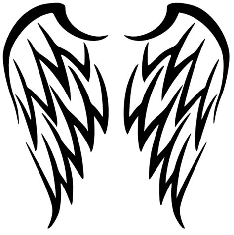 tribal angel wings tattoos wings images designs