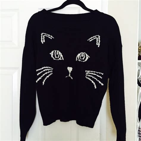 Blackcat Sweater 55 sweaters black cat sweater from s closet