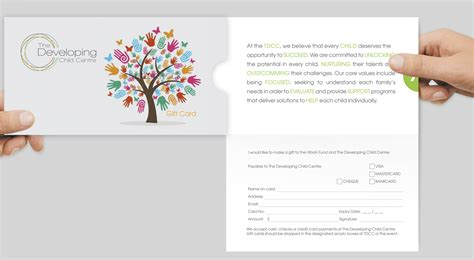 Charity Donation Gift Card - card design for nof mazrui by tanya design 2704948