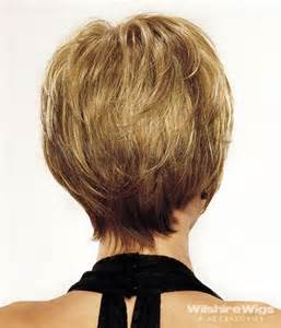 rear veiw of flicky hairsyles short hair long layers back view beauty short