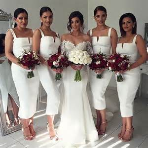 17 best ideas about white bridesmaid dresses on pinterest classy bridesmaid dresses cheap