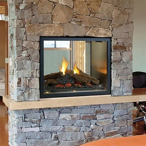 Interior Gas Fireplace by Sided Gas Fireplace Warmer Unique Room Divider