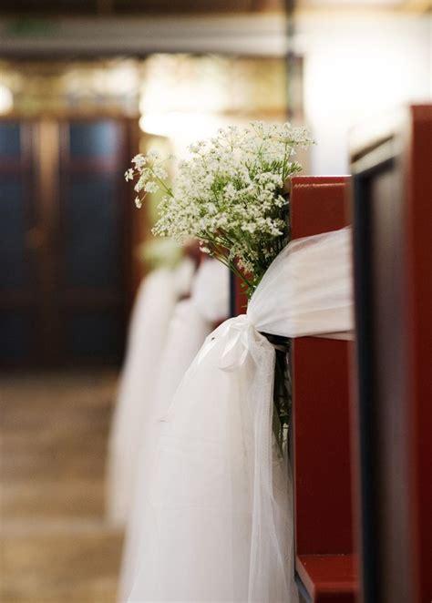 simple wedding church decor the diy wedding