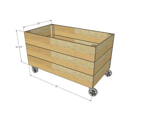 ana white build  simple cedar toy box   easy