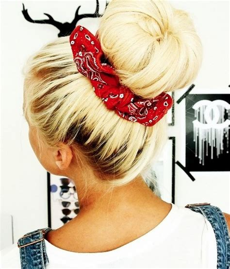 put your on a haircut how to create a hairstyle with a bandana pretty designs