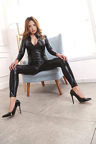 love secret catsuit women bodysuit zip  clubwear