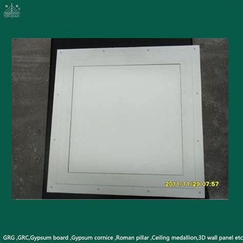 gypsum frame with gypsum board gypsum access panel ceiling
