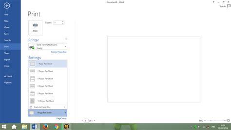 cara membuat halaman kertas pada microsoft word cara membuat menyimpan dan mencetak dokumen pada ms word