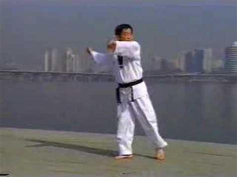 youtube taekwondo pattern 1 wtf taekwondo taegeuk il jang 1st poomse quot heaven light