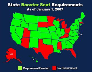 booster seat requirements michigan ten thousand mirrors 12 most dangerous states for