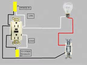 wiring a gfci outlet in series a free printable wiring diagrams