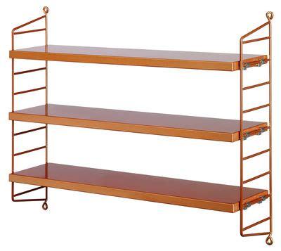 string pocket shelf copper by string furniture