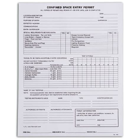 Confined Space Entry Log Pictures To Pin On Pinterest Pinsdaddy Confined Space Policy Template