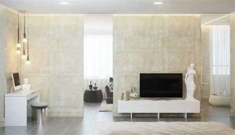 Interior D Wall Treatment by