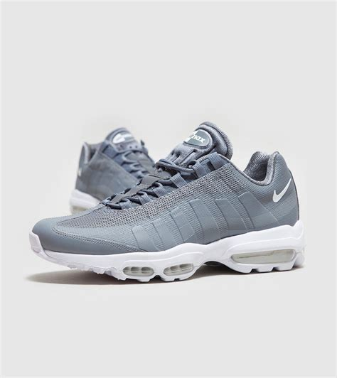 Air Grey lyst nike air max 95 ultra essential in gray for