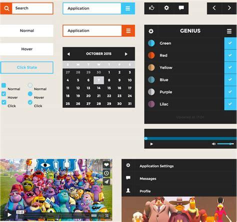 20 best free html css3 ui kits designmaz 30 latest best free html css3 ui kits 2017 designmaz