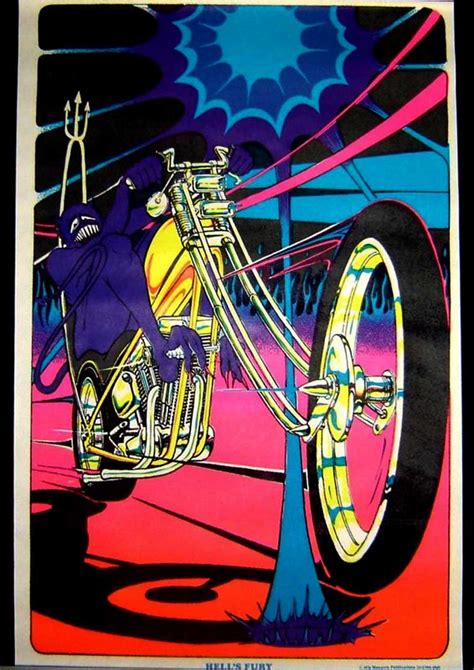 1970 black light posters high octane 1970 s black light posters