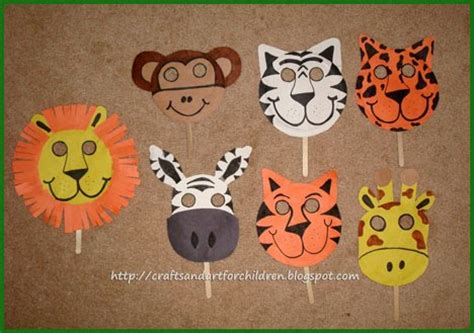 Handmade Animal Masks - celebrate world animal day with