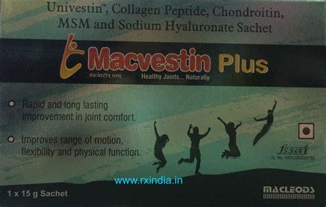 Collagen Original Sachet buy macvestin plus 15 gm sachet univestin collagen peptide chondroitin msm sodium