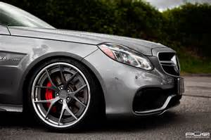 Mercedes With Rims Mercedes W212 E63 Amg Facelift On Pur Wheels Benztuning