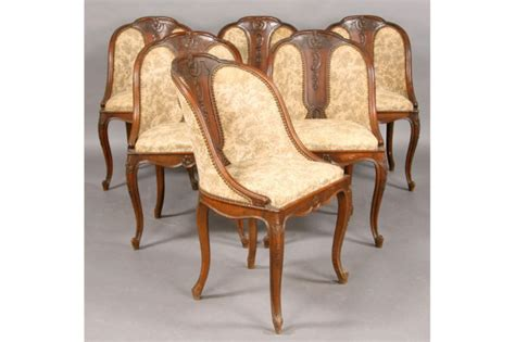 Antique Dining Chairs For Sale Set Six Antique Barrel Back Dining Chairs C 1900 For Sale Antiques Classifieds