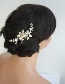 hair accessories singapore gold bridal hair comb wedding hair accessories by lulusplendor