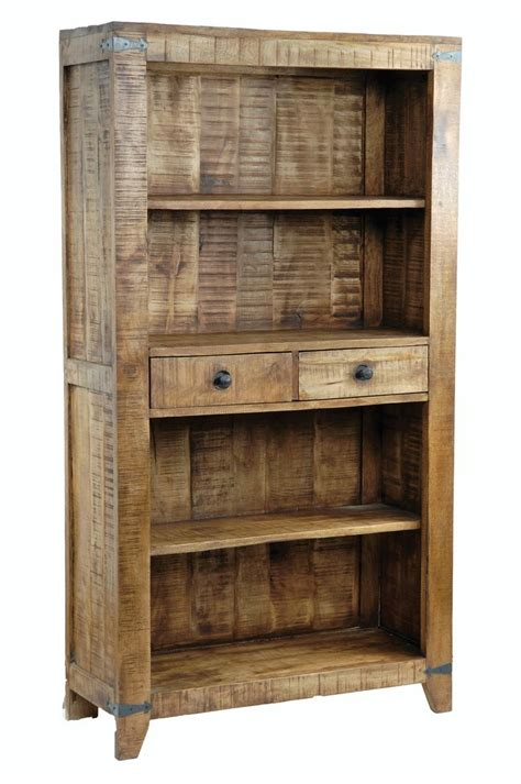 best 20 rustic bookshelf ideas on