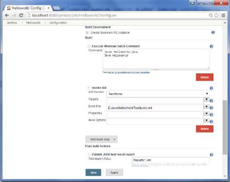 xml testing tutorial jenkins unit testing
