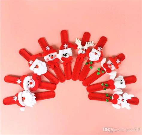 Santa Claus Circle Bracelet Intl santa claus snowman toys slap pat circle bracelet