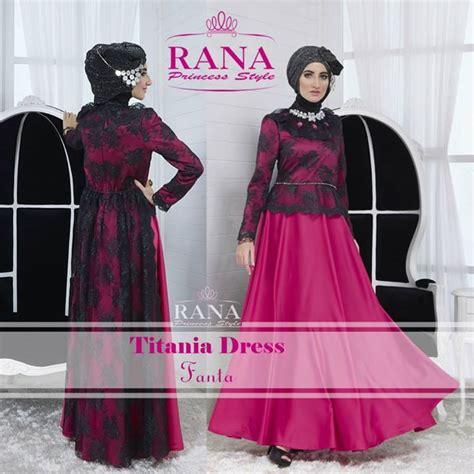 Gamis Rana Model Kreasi Jilbab Baju Muslim Fashion Terbaru
