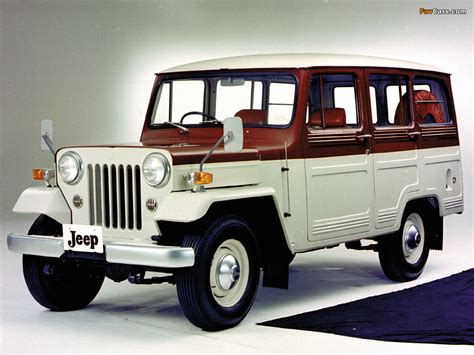 mitsubishi jeep images of mitsubishi jeep wagon j30 1962 83 1024x768