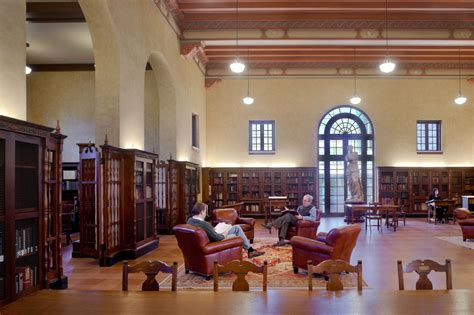 building a library room gensler s renovation of the ideson building in houston buildipedia