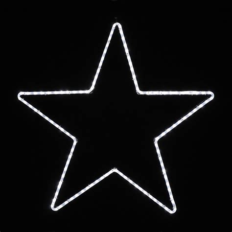 large lighted star outdoors shop holiday lighting specialists 3 25 ft large point star